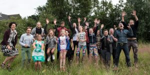 We proudly present: de kinderen en de jongeren…